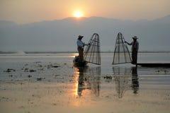 ASIA MYANMAR INLE LAKE Royalty Free Stock Photos