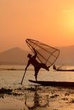 ASIA MYANMAR INLE LAKE Stock Image
