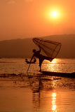 ASIA MYANMAR INLE LAKE Stock Photography