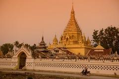 ASIA MYANMAR INLE LAKE NYAUNGSHWN PAGODA Royalty Free Stock Image