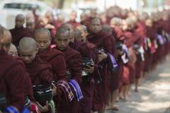 ASIA MYANMAR MANDALAY AMARAPURA MAHA GANAYON KYAUNG MONASTERY Stock Image
