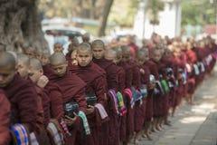 ASIA MYANMAR MANDALAY AMARAPURA MAHA GANAYON KYAUNG MONASTERY Royalty Free Stock Photography