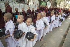 ASIA MYANMAR MANDALAY AMARAPURA MAHA GANAYON KYAUNG MONASTERY Stock Photo