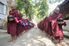 ASIA MYANMAR MANDALAY AMARAPURA MAHA GANAYON KYAUNG MONASTERY Royalty Free Stock Images