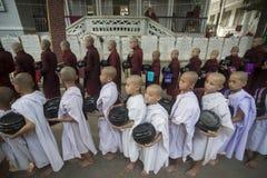 ASIA MYANMAR MANDALAY AMARAPURA MAHA GANAYON KYAUNG MONASTERY Stock Images
