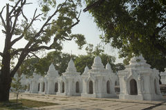 ASIA MYANMAR MANDALAY KUTHODAW PAYA Royalty Free Stock Images