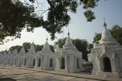 ASIA MYANMAR MANDALAY KUTHODAW PAYA Stock Image