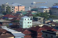ASIA MYANMAR MYEIK CITY Royalty Free Stock Photos