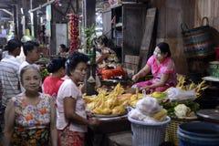 ASIA MYANMAR MYEIK MARKET Stock Photography