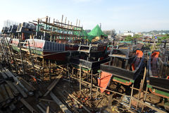 ASIA MYANMAR MYEIK SHI MANUFACTURE Stock Photo
