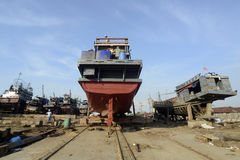 ASIA MYANMAR MYEIK SHI MANUFACTURE Stock Images