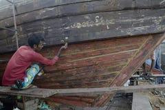 ASIA MYANMAR MYEIK SHI MANUFACTURE Royalty Free Stock Images