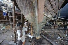 ASIA MYANMAR MYEIK SHI MANUFACTURE Stock Image