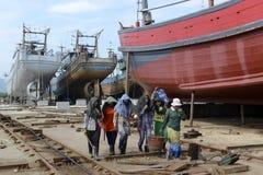 ASIA MYANMAR MYEIK SHI MANUFACTURE Royalty Free Stock Image