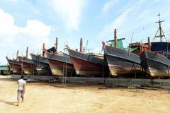 ASIA MYANMAR MYEIK SHI MANUFACTURE Stock Photography