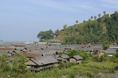 ASIA MYANMAR MYEIK VILLAGE Stock Photo