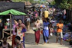 ASIA MYANMAR MYEIK VILLAGE Royalty Free Stock Photo