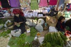 ASIA MYANMAR NYAUNGSHWE INLE LAKE MARKET Stock Photos