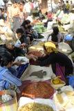 ASIA MYANMAR NYAUNGSHWE INLE LAKE MARKET Stock Image