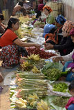ASIA MYANMAR NYAUNGSHWE  MARKET Royalty Free Stock Photos