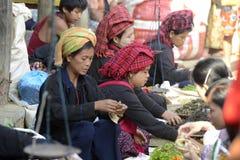 ASIA MYANMAR NYAUNGSHWE  MARKET Stock Image