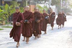 ASIA MYANMAR NYAUNGSHWE MONK Stock Photography