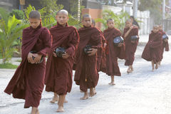 ASIA MYANMAR NYAUNGSHWE MONK Royalty Free Stock Photos