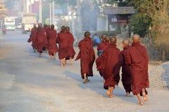 ASIA MYANMAR NYAUNGSHWE MONK Royalty Free Stock Images