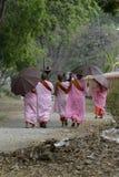 ASIA MYANMAR NYAUNGSHWE NUN Stock Image