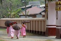 ASIA MYANMAR NYAUNGSHWE NUN Stock Photos