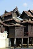 ASIA MYANMAR NYAUNGSHWE PAGODA Royalty Free Stock Images