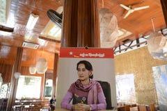 ASIA MYANMAR NYAUNGSHWE POLITICS Royalty Free Stock Photo