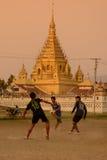 ASIA MYANMAR NYAUNGSHWE SOCCER FOOTBALL Stock Photography