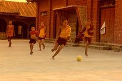 ASIA MYANMAR NYAUNGSHWE SOCCER FOOTBALL Stock Photo
