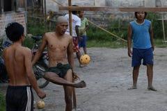 ASIA MYANMAR NYAUNGSHWE SPORT Stock Photos