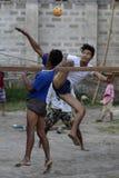 ASIA MYANMAR NYAUNGSHWE SPORT Royalty Free Stock Photography