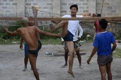 ASIA MYANMAR NYAUNGSHWE SPORT Royalty Free Stock Photos