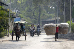 ASIA MYANMAR NYAUNGSHWE TRANSPORT Stock Images