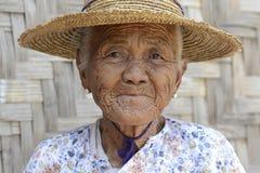 ASIA MYANMAR NYAUNGSHWE WOMEN Stock Photography