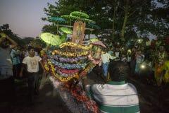 ASIA MYANMAR YANGON FIRE WALK FESTIVAL Royalty Free Stock Photography
