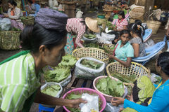 ASIA MYANMAR YANGON MARKET BETEL LEAFES royalty free stock photography