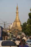ASIA MYANMAR YANGON SULE PAYA PAGODA Stock Images