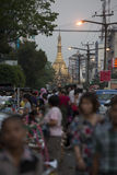 ASIA MYANMAR YANGON SULE PAYA PAGODA Stock Photos