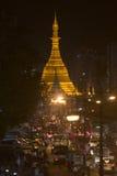 ASIA MYANMAR YANGON SULE PAYA PAGODA Stock Photography