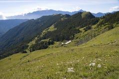 asia natura krajobrazowa halna sceniczny Taiwan Obrazy Royalty Free