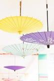 Asia Oil-paper umbrella. Oil-paper umbrella is a kind of paper umbrella originated in China Royalty Free Stock Photography
