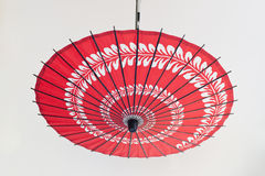 Asia Oil-paper umbrella. Oil-paper umbrella is a kind of paper umbrella originated in China Stock Images