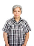 Asia old woman Stock Photography