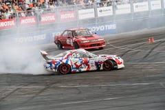 Asia Pacific D1 Primring grand prix 2015 ryska drivaserie Royaltyfri Bild