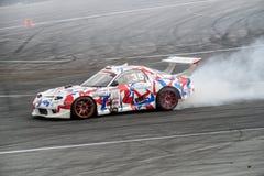 Asia Pacific D1 Primring grand prix 2015 ryska drivaserie Royaltyfria Bilder